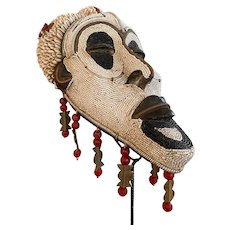 Tribal Baule African Mask Collectible
