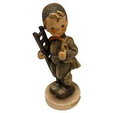 """Highly collectible Goebel Hummel """"Chimney Sweep"""" Figurine, 12/I, TMK-3 (small stylized bee)"""