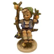 """Highly collectible Goebel Hummel """"Apple Tree Boy"""" Figurine, 142/I, TMK-3 (small stylized bee)"""