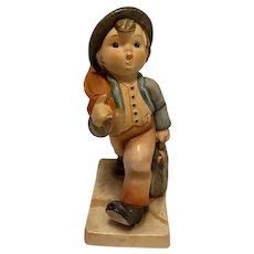 """Highly collectible Goebel Hummel """"Merry Wanderer"""" Figurine, 11/0, TMK-3 (small stylized bee)"""