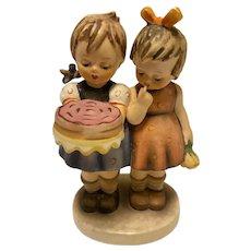 """Highly collectible Goebel Hummel """"Happy Birthday"""" Figurine, 176/0, TMK-3 (small stylized bee)"""
