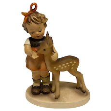 "Highly collectible Goebel Hummel ""Friends"" Figurine, 136/I, TMK-4"
