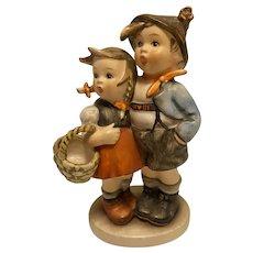 """Highly collectible Goebel Hummel """"Surprise"""" Figurine, 94/I, TMK-3 (small stylized bee)"""