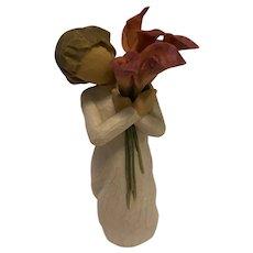 "Willow Tree ""Bloom"" Figurine by Artist Susan Lordi, 2012"
