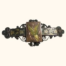 Vintage Victorian 14kt Gold Ornate Watch Pin/ Brooch
