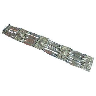 Vintage Sterling 925 Taxco Mexico Bracelet