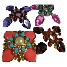 Joan Rivers Changeable Brooch/Pin