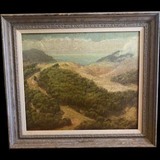 Ralph Holmes (1876-1963) Original Landscape Oil on Canvas