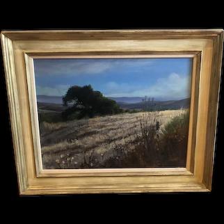 Kent Lovelace (1953-2017) Original Landscape Oil on Canvas 24 x 18