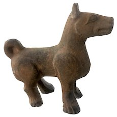 Ancient Tang Dynasty Growling/Smiling Dog, Circa 618-907 AD