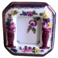 Gorgeous! Mini Limoges Picture Frame on stand …Such great detail of Urns & Flowers