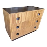 George Nelson Inspired Walnut Lowboy Dresser.