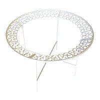 Ribbon Patio/Outdoor Picnic Table by Maurizio Tempestini for Salterini