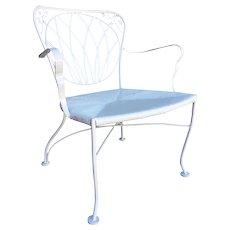 Woodard Art Nouveau Iron Patio/Outdoor Lounge Chair, set of 4