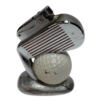 Original 1950's Golf Ball and Club Lighter