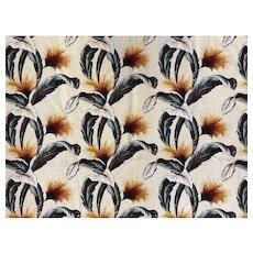 """Vintage Aloha"" Cotton Fabric by Hoffman Fabrics, 9 yards total"