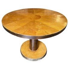 "Streamline 30"" Round Two-Tone Coffee Table"