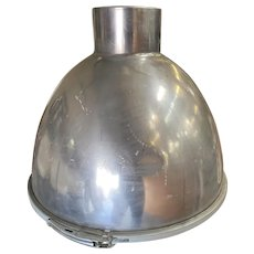 "Large 16"" Wide Aluminum Industrial Pendant Light Fixture"