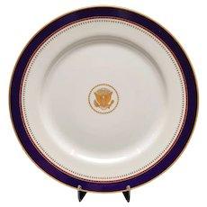 Ronald Reagan White House Dinner Plate (V1)