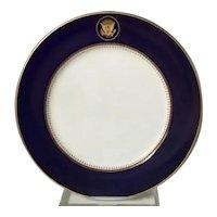 Ronald Reagan White House Dinner Plate (V2)
