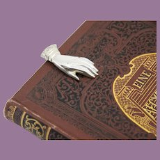 Tiffany & Co Sterling Silver Hand Bookmark Glove Money Clip