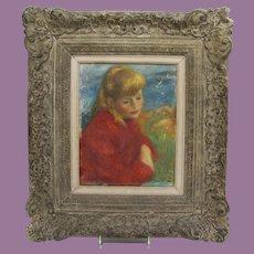 Robert Philipp Oil on Canvas Painting
