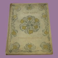 Meh Lady Book by Thomas Nelson Page A Story of the Civil War