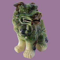 Tall Chinese Guardian Shishi Lion Foo Dog