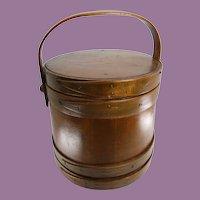 19th Century Firkin (sugar bucket) bands pegs