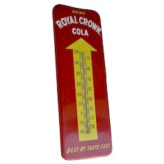 1958 Royal Crown Cola Thermometer 25""