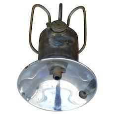 Justrite Miners Lantern early 1900's Brass