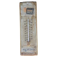 Trojan Premium Batteries Brach Auto supplies metal thermometer 13 1/2""