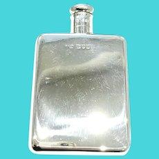 Asprey - Superb antique Edwardian sterling silver Hip Flask - London 1907