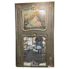 18th Century Trumeau Mirror