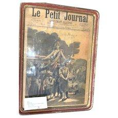 "1893 ""LE Petite Journal"" Framed Original"