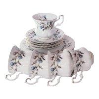 Royal Albert Porcelain Tea Set Brigadoon