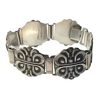 David Andersen Sterling Silver Viking Style Bracelet