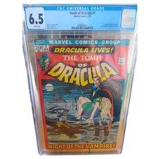 Tomb of Dracula cgc 6.5