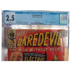 Daredevil 2 + Silver age comics