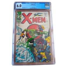Silver age comics + X-Men comic books
