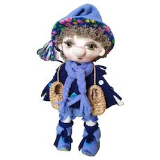 Brownie doll, Amulet doll for the house, DIY interior doll