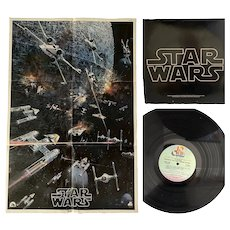 1977 Star Wars Record Poster & Insert
