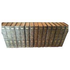 1911 Jules Verne 15-Volume Limited Set