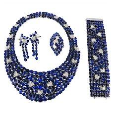 615+ Carat Blue Sapphire Suite