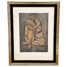 Maurice Sterne Stunning Framed Litho