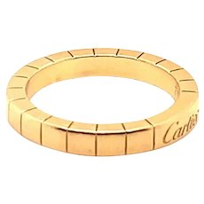 Cartier Band 18k Size 6.25