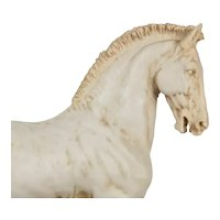 "Italian Sculpture in Resin Begin 20th Century "" Horse """