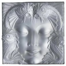 Lalique Masque de Femme Wall Sculpture