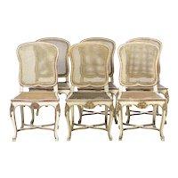Set 10 Spanish Chairs of the 20 Century.