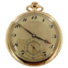 Vacheron & Constantin pocket watch in yellow gold 18kt